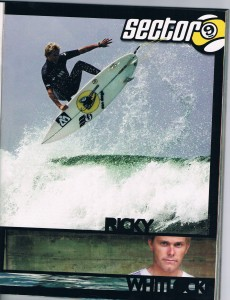 Sector 9 team rider Ricky Whitlock also surfs for WEST wetsuits