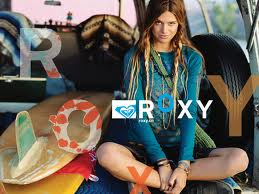 Roxy surfer