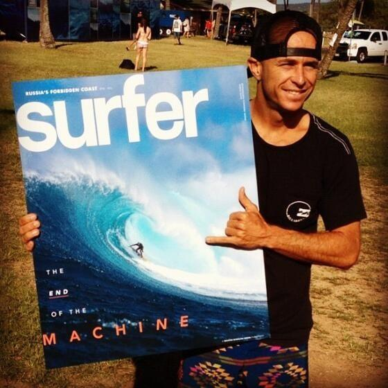 JC rider Shane Dorian gets January cover of SURFER magazine!