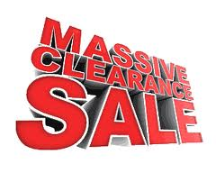 Living Water is having a Masssive Clearance SALE!