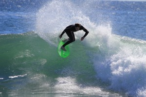 Living Water Team Rider Colin Cook.  Throwing buckets!