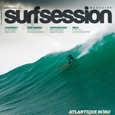 Cover - Shane Dorian charging huge Portugal!
