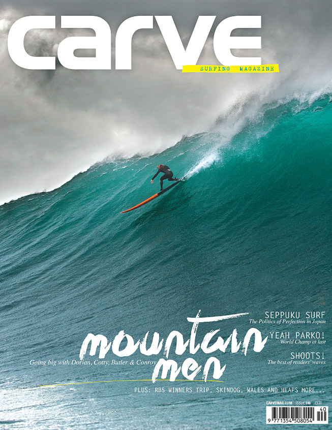 Dorian - Carve magazine -cover