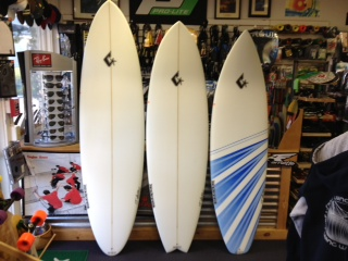 New Clever surfboards (decks) - 7'0, 6'6, 6'4