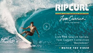 Tom Curren from Rip Curl @ Living Water