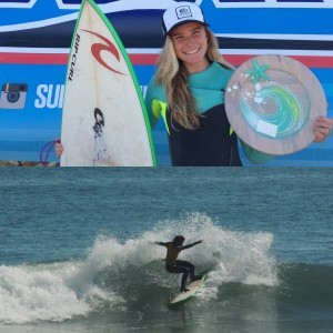 Maria Barend - Surfing America Prime finalist - April 2015 - North Carolina