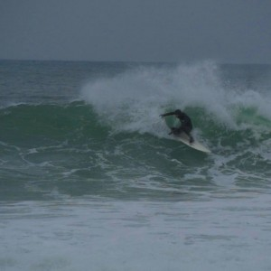 Pat Kinnane putting his new JC Hawaii surfboard to the test, looks like it passed the shred test, yewwww!!!!