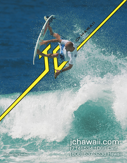 Shane Dorian - JC Hawaii surfboards rider