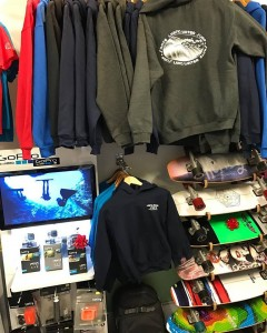 New Living Water Surf Co hoodies arrived in adult and youth sizes, they are warm and toasty!